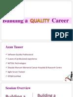 QA as a Career