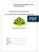 [EnvironmentAL Engineering Laboratory Manual