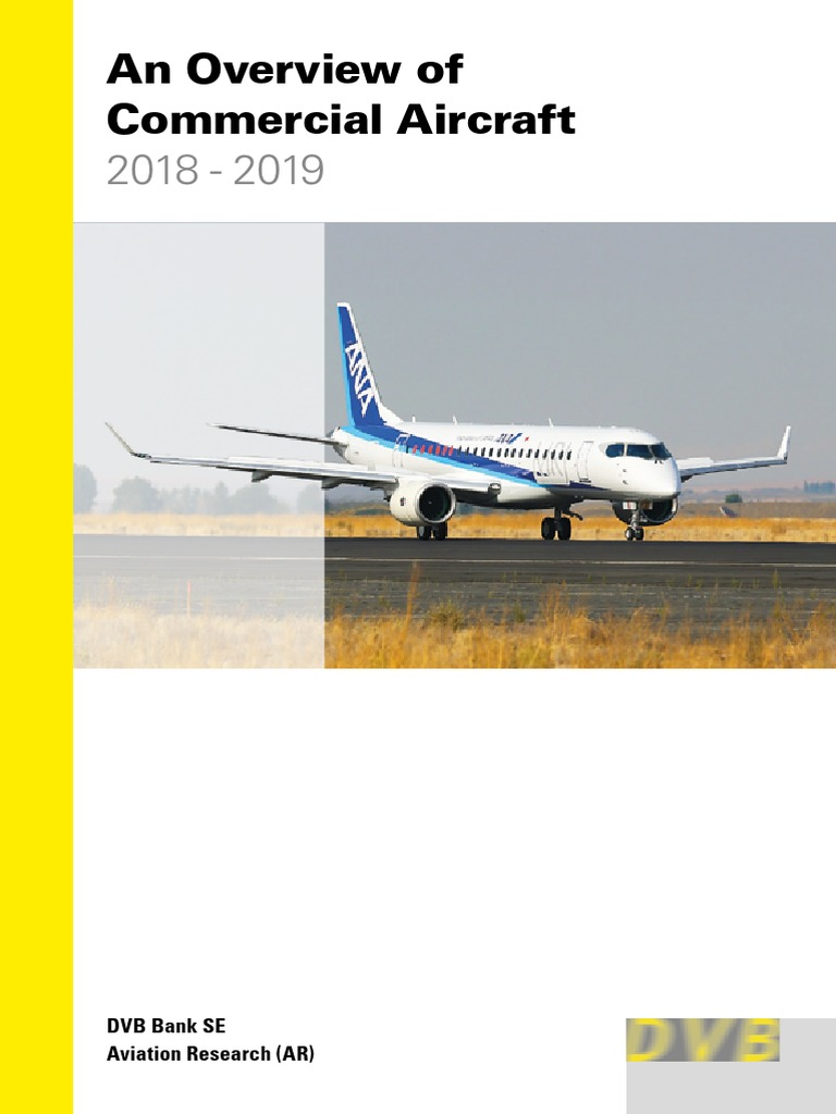 Dvb Overview Of Mercial Aircraft 2018 2019 Pdf