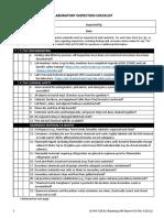 General Lab Inspection Checklist