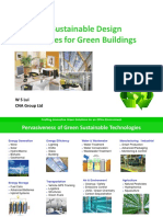 Emerging Sustainable Design Technologies for Green Bldgs