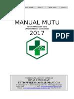 Manual Mutu 2017