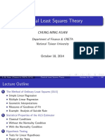 Classical Least Squares Theory - Lecture Notes