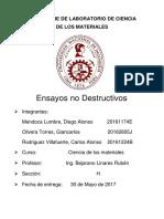 Informe 3 Ciencia de Los Materiales