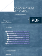 Methods of Flouride Application