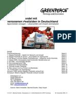 Krimineller Handel mit verbotenen Pestiziden in Deutschland