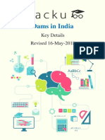Dams in India PDF.pdf