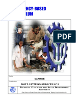Cbc Ships Catering Services Nc II
