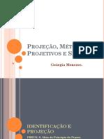 Projeção -Métodos projetivos e símbolos