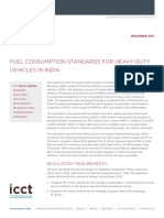 ICCT India HDV Fuel Consumption Policy Update 20171207