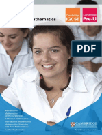 137818 Mathematics Qualification Brochure