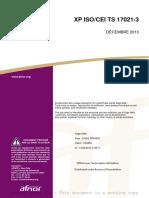 ISO 17021-3 - Exigences de Compétences