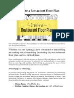 How to Create a Restaurant Floor Plan.docx