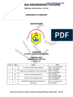 CY8151 Engineering Chemistry