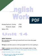 English PPT - English Work