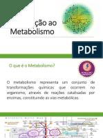 Aula Introdução Ao Metabolismo