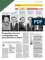 Yolanda Vaccaro El Comercio 27-4-2019- Elecciones España 28 Abril