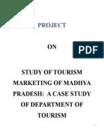 FINAL project Tourism Marketing Of Madhya Pradesh.docx
