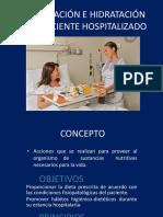 Nutrición Del Paciente Hospitalizado