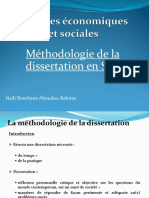 Methodologie de La Dissertation