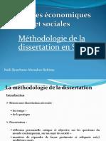 Methodologie de La Dissertation