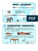 Vocabulario Lengua Castellana 3º Tarjetas Dudas 1