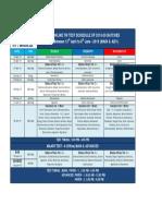 Revised Snr Online Tw Test Planner 2018-20 (Major Test - 4)