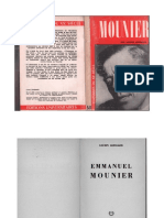 Lucien Guissard - Emmanuel Mounier (Editions Universitaires, 1962)
