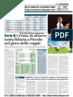 La Provincia Di Cremona 27-04-2019 - Serie B