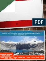Semana Santa en Huaraz 2019