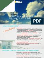 Información Programa Refuerzo Estival