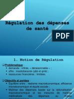 CH6 Régulation Des Dépenses de Santé
