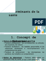 CH3 Déterminants de La Santé