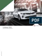 Kia Catalogo Flotas 2018