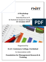 Brochure - Workshop on R