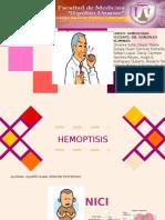 Seminario Semiologia Hemoptisis Modificado