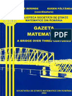 Vasile Berinde, Eugen Păltănea, Romanian Mathematical Society-Gazeta Matematică - A Bridge Over Three Centuries  -Romanian Mathematical Society (2004).pdf