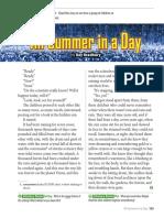 All Summer in a Day - Ray Bradbury