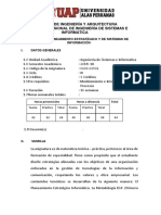 Silabo de Planeamiento Estrátegico-sistemas de Información_2019