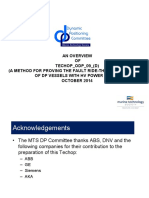 Overview of MTS Fault Ride-Through TECHOP