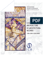 A Guide to the Archival Care of Architectural Records
