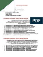 Estructura Del Portafolio Integrado 2017 INICIAL I