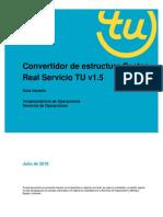 Guia Usuario - Convertidor de Estructura Sector Real Servicio TU v1.5