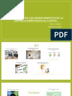 Evaluación de Los Departamentos de La Empresa Orientados (1)