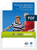 Financial Decisions at Retirement