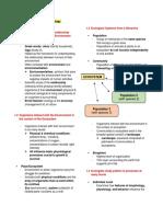 The Nature of Ecology - Summary.pdf