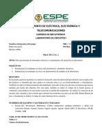 Informe de practica Circuitos Electricos