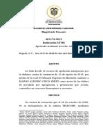 Condena Prevaricato y Peculado x Pension Reconocida en Tutela Contra de Telecom Sp1176-2019(53765)