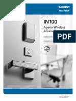 Assa Abloy Sargent In100 Lock Brochure 0717l