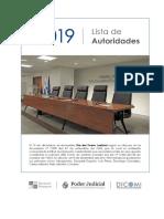 SCJ - Lista de Autoridades y Juzgados 2019 Marzo.pdf